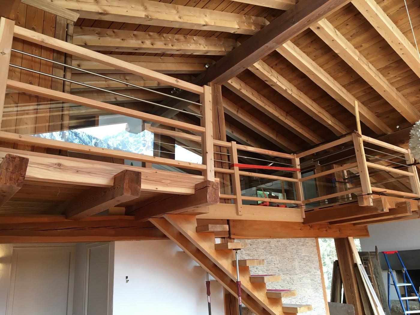 Bardage Bois Vertical Interieur damien favrel, menuisier charpentier à chamonix mont-blanc